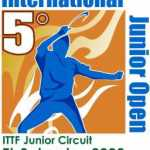 5° El Salvador Junior and Cadet Open, ITTF Junior Circuit Event