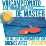 VIII Campeonato Latinoamericano Master ARG 2013
