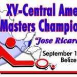 XV Campeonato Centroamericano Master BLZ 2013