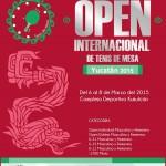 Invitación  oficial Open Internacional  de Yucatán 2015