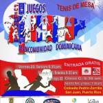 1° Juegos de la Mancomunidad Dominicana