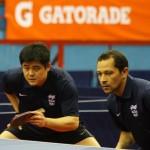 Cazuo Matsumoto y Thiago Monteiro se quedaron en cuartos de final