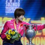 Ding Ning es la campeona mundial 2015 (VIDEO)