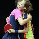 Xu Xin y Yang Haeun son los nuevos campeones mundiales en dobles mixtos (VIDEO)