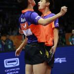 Xu Xin y Zhang Jike son los campeones mundiales en dobles (VIDEO)
