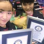 Mima Ito y Miu Hirano entran al libro de Records Guinness (VIDEOS)