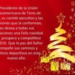 Una Feliz Navidad y un Próspero Año Nuevo les desea la Unión Latinoamericana
