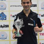 Hugo Calderano se coronó campeón en Kuwait (VIDEO)