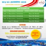 Paraguay invita a 3er.  Abierto de la Ciudad de Asunción