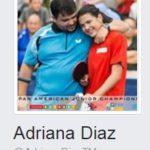 Adriana Díaz es la segunda tenimesista más popular del mundo en facebook