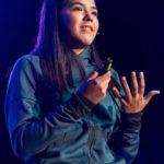 Adriana Díaz se lució como conferenciante en evento TED