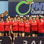 México y Guatemala en la cima del podio Centroamericano en  Equipos y dobles