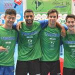 Brasil conquista todo el oro del evento por equipos en el Sudamericano Infantil-Juvenil 2017