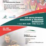 Nuevo Curso de Administración de la ITTF, provee premios e incentivos en utileria.
