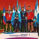 Héctor Gatica y Andrea Estrada reciben el último oro en Nicaragua
