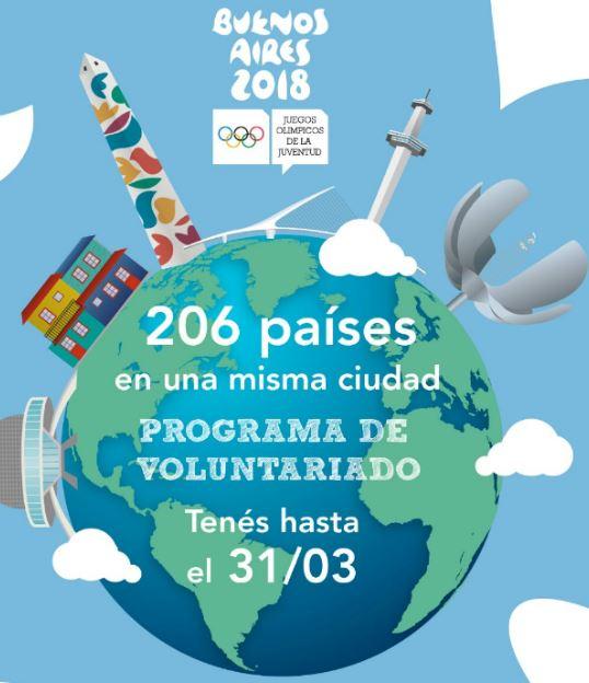 Programa De Voluntariado Para Los Juegos Olimpicos De La Juventud
